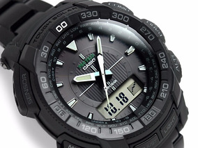 Relógio Casio Pro Trek Prg-550bd-1dr Sensor Triplo Original