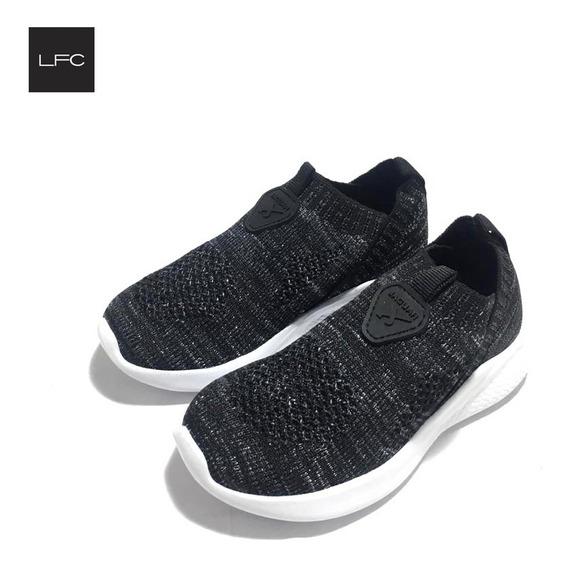 Zapatillas Para Niños Niñas Con Elastico Jaguar (33/9018)