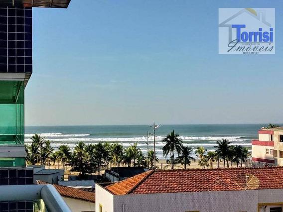 Apartamento Em Praia Grande, 02 Dormitórios, Vista Para O Mar - Ref. Ap2257 - Ap2257