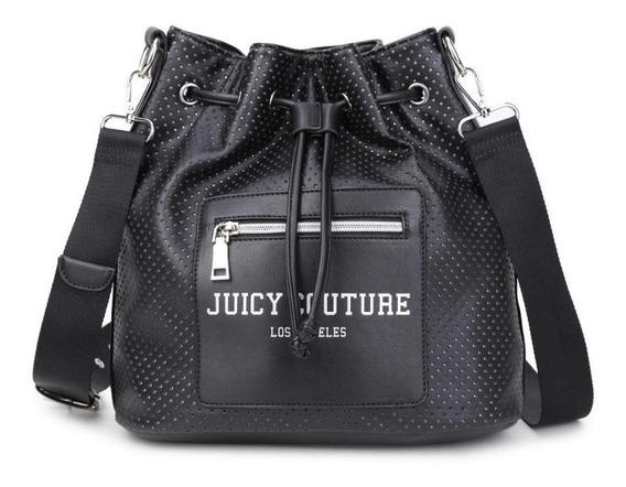 Bolsa Saco Juicy Couture Média Couro Sintético Frete Grátis