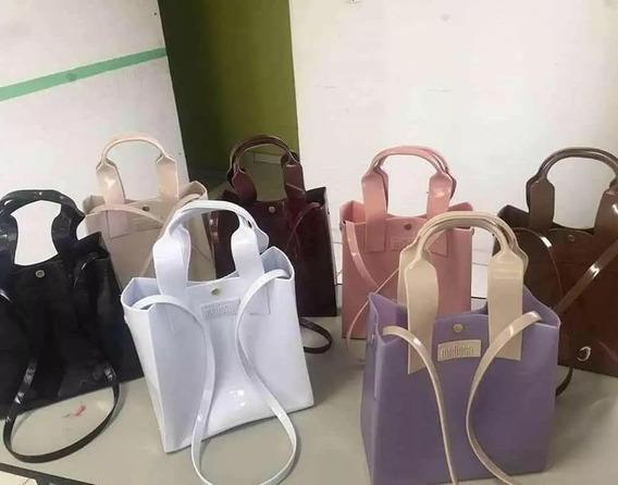 Kit 2 Bolsas Melissa Tote Bag
