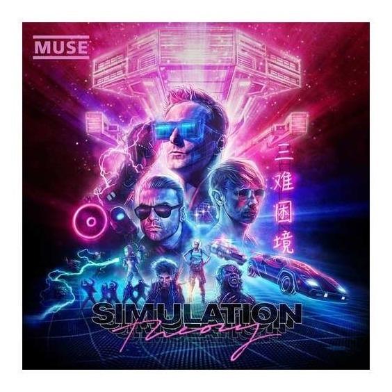 Muse Simulation Theory Usa Import Lp Vinilo Nuevo