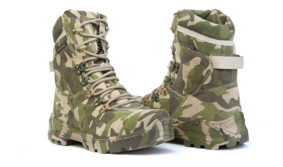 Bota Barata Coturno Multicam Camuflada Airsoft Paintbal