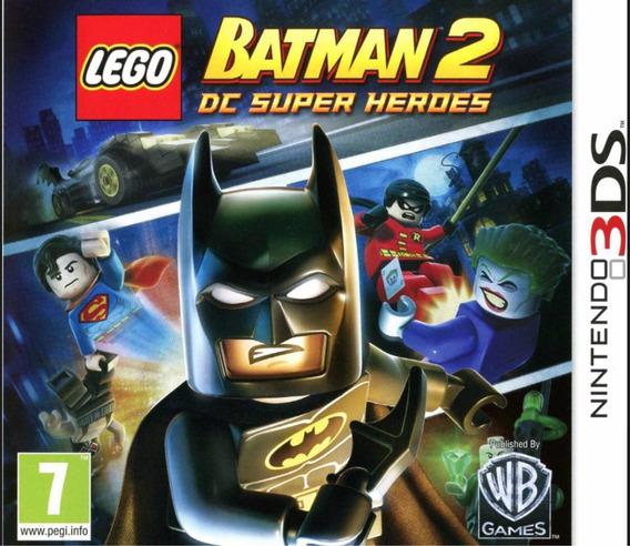 Jogo Lego Batman 2 Nintendo 3ds Novo Lacrado