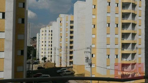 Imagem 1 de 14 de Apartamento Com 2 Dormitórios À Venda, 62 M² Por R$ 250.000,00 - Jardim Testae - Guarulhos/sp - Ap0155