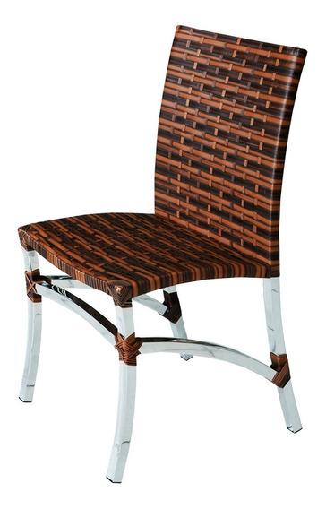 Cadeira De Fibra Sintética E Alumínio - Fusion.