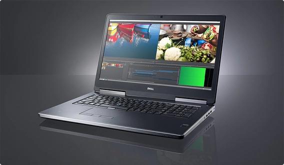 Notebook Workstation Dell Precision 7710 I7 16gb Nvidia 4gb