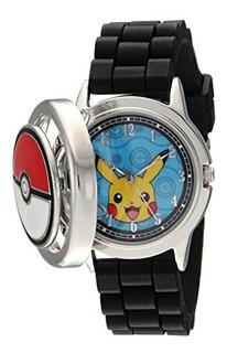 Reloj Casual De Metal Y Silicona De Cuarzo Para Hombre Pokem