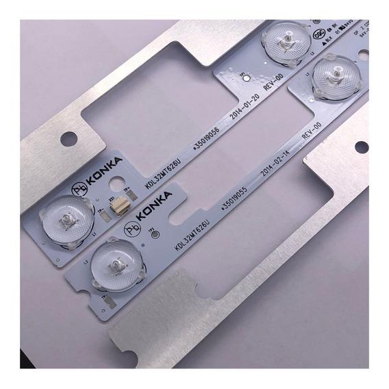 Barramento Completo C/4 Barras Tv Semp Toshiba 32l2400