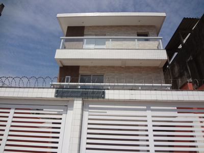 Sobrado Casa 1 Novo Em São Vicente Centro C/ 3 Quartos 1 Vag