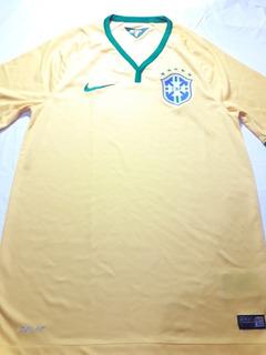 Camisa Do Brasil Original Oficial Nike Fly Tamanho P .
