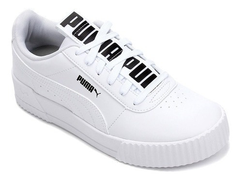 Tênis Puma Carina Bold - White