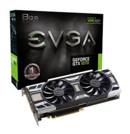Evga Geforce Gtx 1070 Gaming 8gb Gddr5 Acx 3.0 & Led