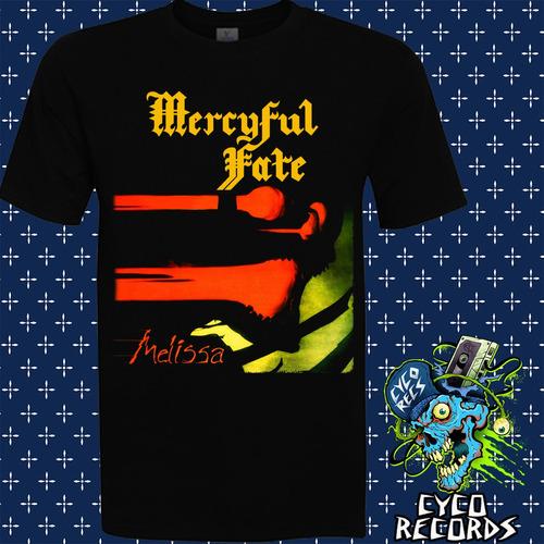 Imagen 1 de 2 de Mercyful Fate - Melissa - Metal - Polera- Cyco Records
