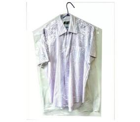 Sacos Plásticos Capas Lavanderia Camisa 60x95 Liso 100 Pç