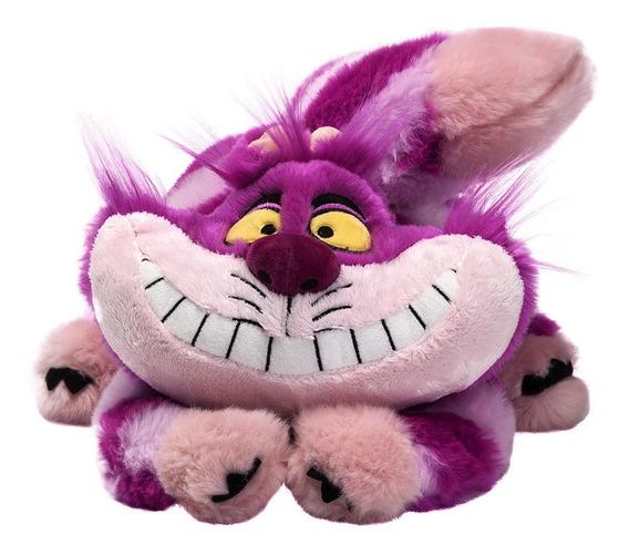 Disney Store Pelucia Gato Risonho Cheshire Da Alice 30cm