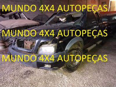 Sucata S10 2.4 Rodeio Flex 2011 Com Motor E Cambio E Peças