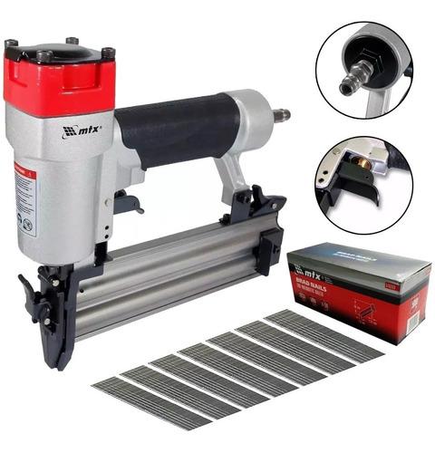 Pinador Pneumatico Para Pinos Mtx Profissional + Pinos 50mm