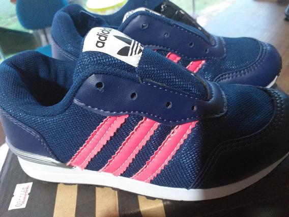Tênis adidas Infantil, Azul, N°29