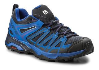 Zapatillas Salomon X Ultra 3 Prime Trekking Hombre Azul