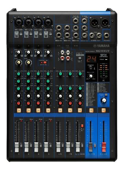 Mesa De Som Yamaha Mg10xuf | Lançamento | 110v | Fader | Nfe