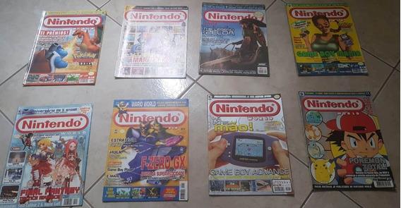 Revistas Nintendo World - 8 Unidades - Leia Descrição