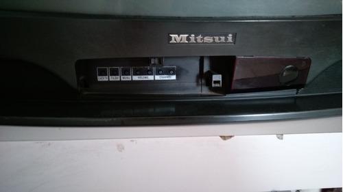 Imagen 1 de 3 de Televisión De Caja Usada. Uno De Los Botones No Funciona Bn.