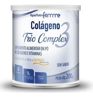 Colágeno Trio Complex Tipo 2 + Verisol Apisnutri Neutro 200g