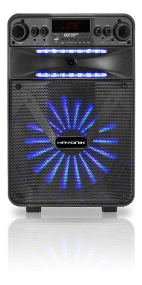 Caixa Amplificada Portatil Bluetooth Usb 100w Go Power 200