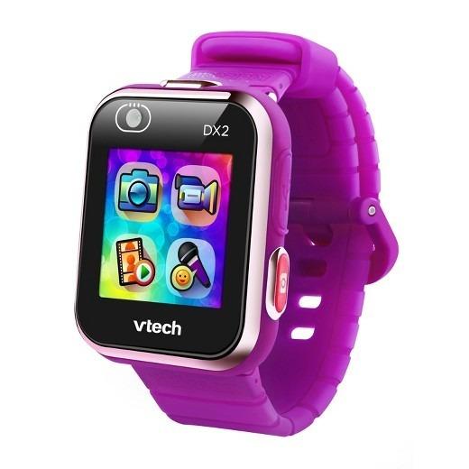 Vtech Reloj Smartwatch Dx2 Morado Dual Camara