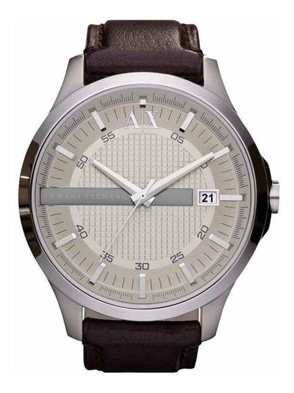 Relógio Armani Exchange Ax2100 (ax 2100) Original Couro