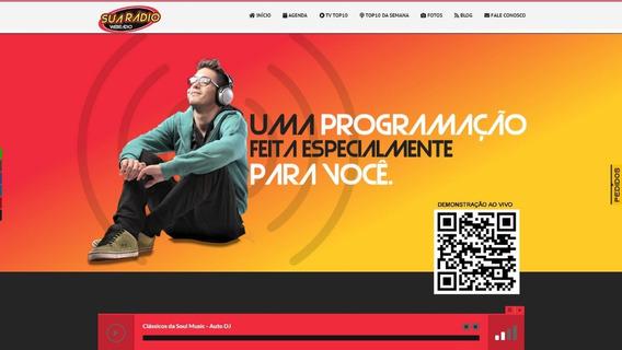 Script Site Rádio Online Em Php Com Painel Admin 2020.