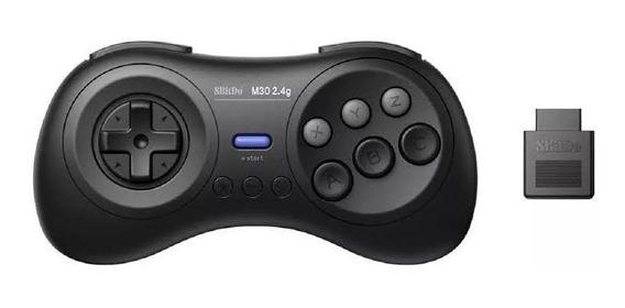 Controle Joystick 8bitdo M30 Mega Drive Com Adaptador