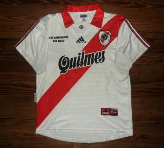 Camiseta River Plate 1999 Campeón Del Siglo
