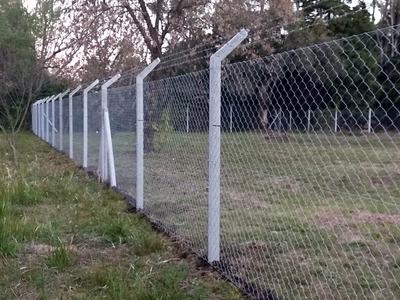 Alambrados-cercos-muros Premoldeados De Hormigon.