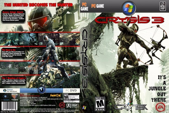 Crysis Trilogia Pc (midia Física)