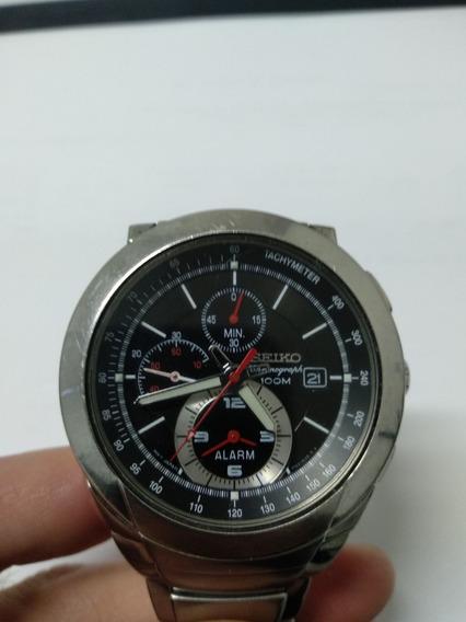 Relógio Seiko Chronograph Tachymeter 7t62