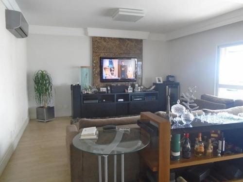 Apartamento Com 3 Dormitórios Para Alugar Por R$ 15.000/mês - Boqueirão - Santos/sp - Ap4015