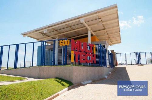 Galpão Logístico Para Alugar, 9.684m² - Techno Park - Campinas/sp - Ga0326