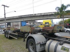 Carreta Porta Container Randon 20 40 Pes 3 Eixos Loc Bug Sec