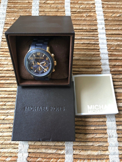 Relógio Michael Kors Azul Marinho (original)