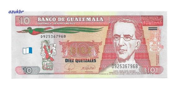 * Guatemala - 10 Quetzales 12-03-2008 - P.117 - Fe *