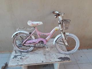 Bicicleta Nena Rodado 16 Rosada