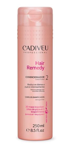Acondicionador Hair Remedy 250ml Marca Cadiveu