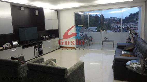 Casa Em Condomínio Para Locação Em Teresópolis, Tijuca, 4 Dormitórios, 4 Suítes, 5 Banheiros, 2 Vagas - Loc193_1-734322