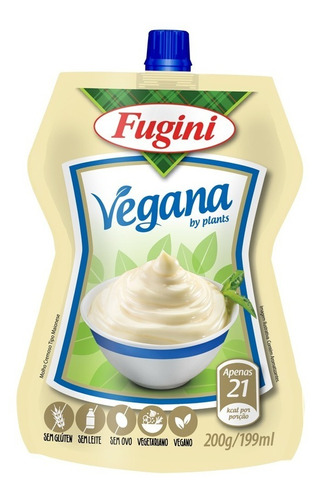 Molho Vegano Tipo Maionese Fugini Frs 360 G