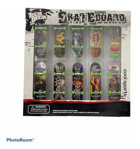 Imagen 1 de 6 de Fingerboard Skate Para Dedos