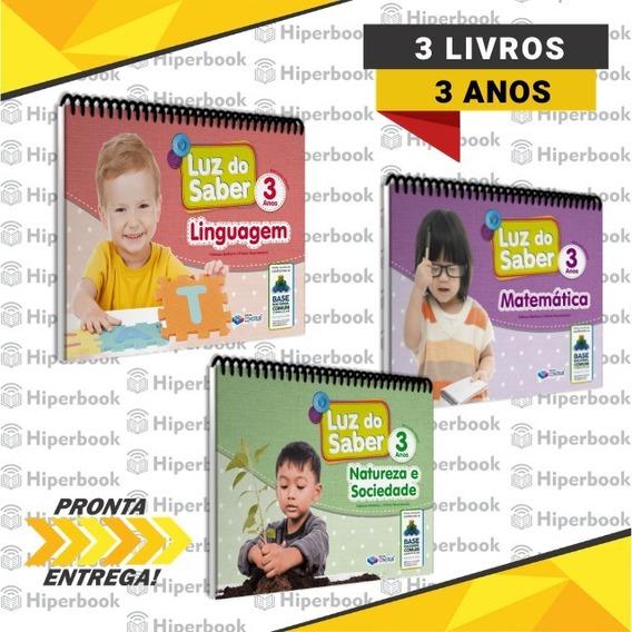 Kit Luz Do Saber Completo - 3 Anos