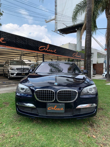 Imagen 1 de 10 de Bmw 750 I 2012 Azul Marino