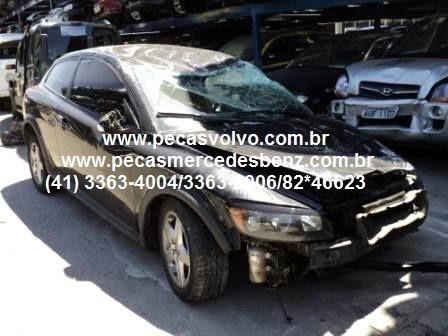 Volvo C30 Batido Para Ser Vendido Em Peças Sucata